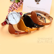 51a7e2829d4 genuine leather bracelet Contracted watch strap women fashion watchband  small 8mm ES4176 ES4119 3262 3077 watch band with screw