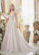 Robe De Mariage Gelinlik Boho Wedding Dresses Chapel Train Bridal Gowns Vestido De Novia