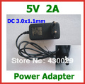 5V 2A DC 3.0x1.1mm Charger EU US Power Supply Adapter for Tablet Huawei Mediapad 7 Ideos S7, S7 Slim, S7-301U,S7-301W, S7-301C