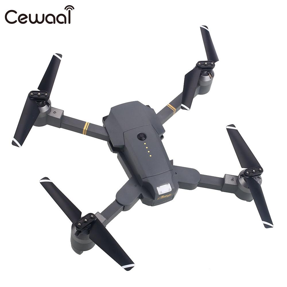 Headless mode throwing mode fixed high folding UAV receiving packet HD 720P WiFi real time video camera Drone Quadcopter Gift