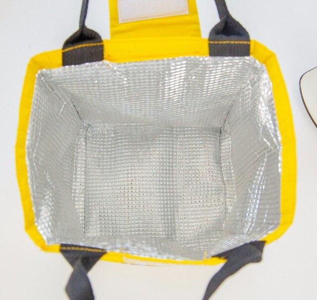 Fish Print Waterproof Oxford Lunch Bag 4