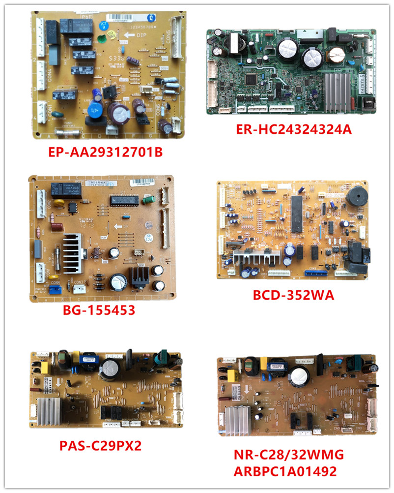 EP-AA29312701B BG-149345| ER-HC24324324A BG-155453 BCD-352WA PAS-C29PX2 NR-C28/32WMG ARBPC1A01492 Used Good Working