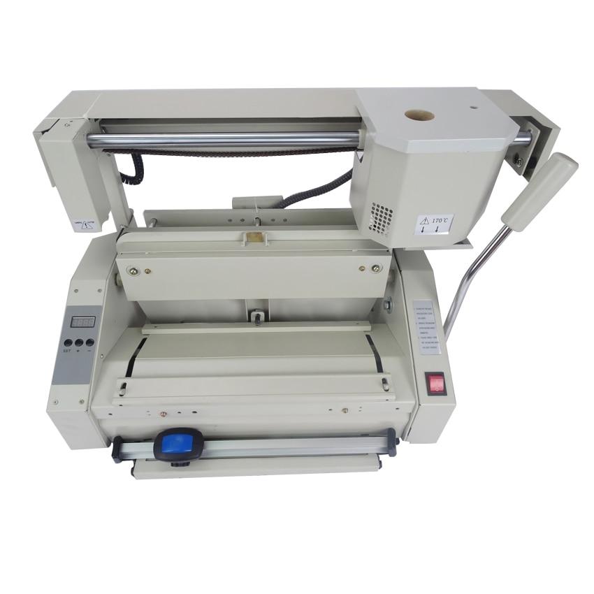 RD-JB-4 Desktop glue book binding machine glue book binder machine hot melt glue binding machine booklet maker стоимость