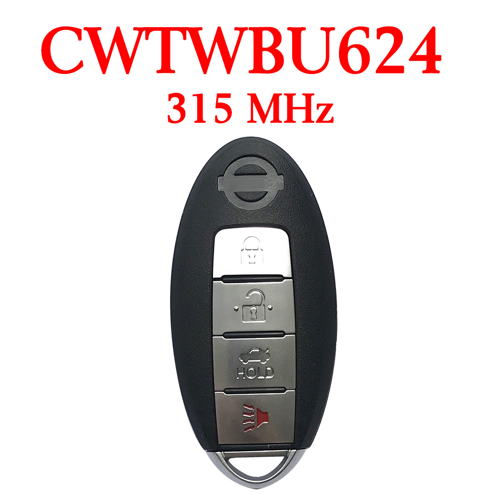 315 MHz 3 1 Buttons Smart Proximity Key for Nissan Armada 2007 2015 CWTWBU624