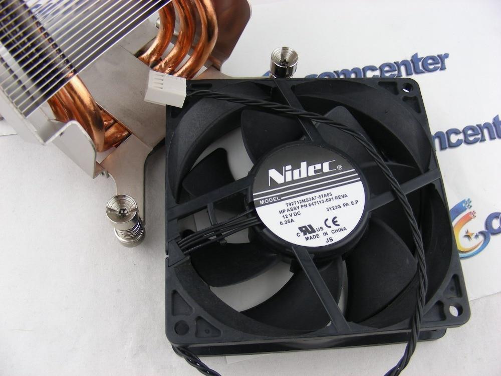 где купить 647113-001 New  Fan for WORKSTATION Z800 Z820 Z840 дешево