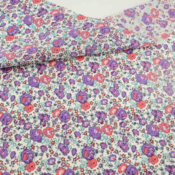 Bloemen Gedrukt 100% Katoen Effen Stof Vet Kwart Art Werk Patchwork Kledingstuk Jurk Tilda Pop Doeken voor Gebinner's Praktijk