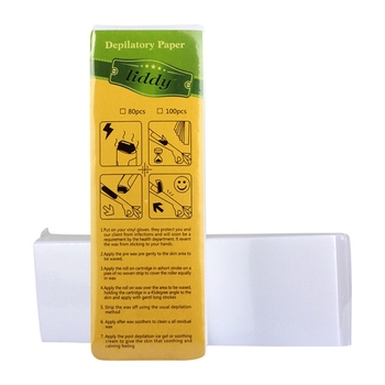 100 Tablets Of Thick Hair Removal Paper Non-woven High Quality Disposable Body Hair Removal Wax Strips Y1