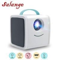 Salange Q2 Mini Projector 700 Lumens Children's Toy Portable Projector Children Education Mini LED Home Beamer Support 1080P