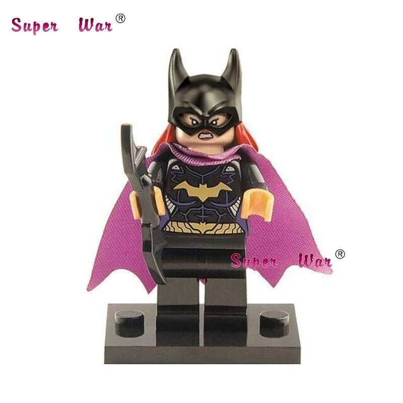 50pcs superhero building blocks action bricks friends for girl boy house games kids children toys