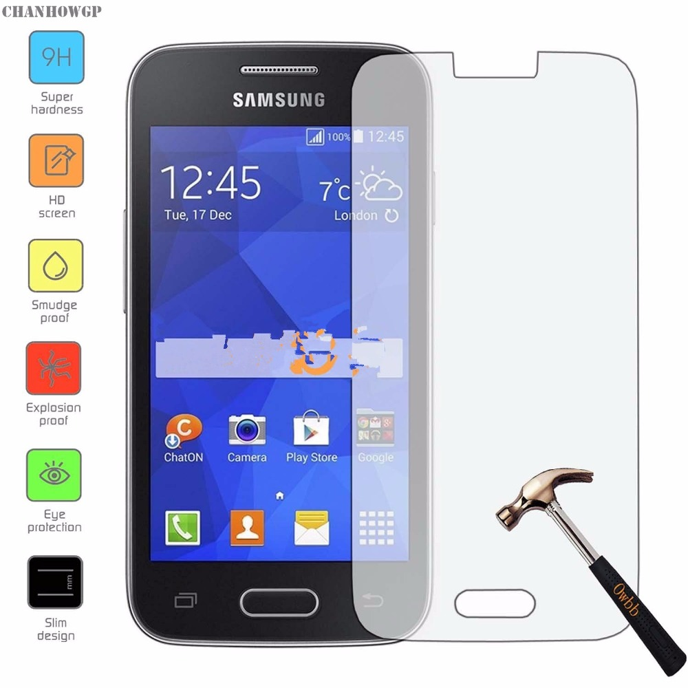 Tempered glass screen protector for samsung galaxy ace 4 - Protection galaxy trend lite ...
