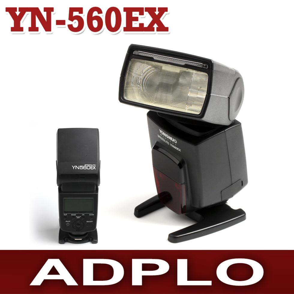 Yongnuo YN-560EX Flash Speedlite Suit for DSLR Camera Canon Nikon Pentax Olympus yongnuo yn 510ex yn510ex off camera wireless ttl flash speedlite for canon nikon pentax olympus pana sonic dslr cameras