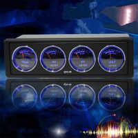 Car modification multi-function car audio spectrum analyzer Temperature and voltage audio status monitoring car spectrum analyze