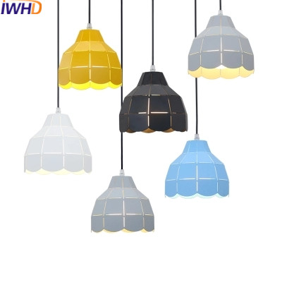 IWHD Modern Luminaire Suspendu Iron Led Pendant Light Fixtures Dining Kitchen Hanging Lamp Home Lighting Creative Design Lamp iwhd black iron hanging lights nordic style loft retro vintage pendant lamp kitchen luminaire suspendu home lighting fixtures
