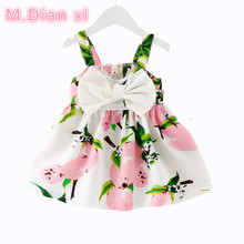 Cartoon Dress Children's Casual Clothes 0-2Years