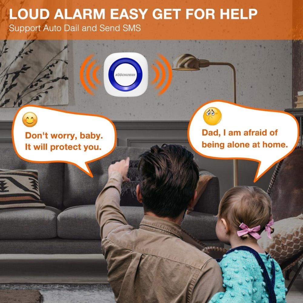 garagem alarme sensor movimento monitor som para segurança