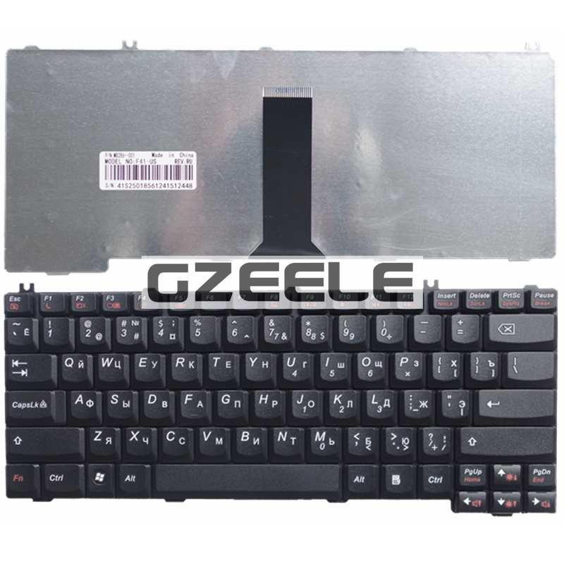 GZEELE NEW Russian Laptop Keyboard For LENOVO F41 F31G Y510A F41G G430 G450 C100 C200 C460 C466 G455 RU Layout Black