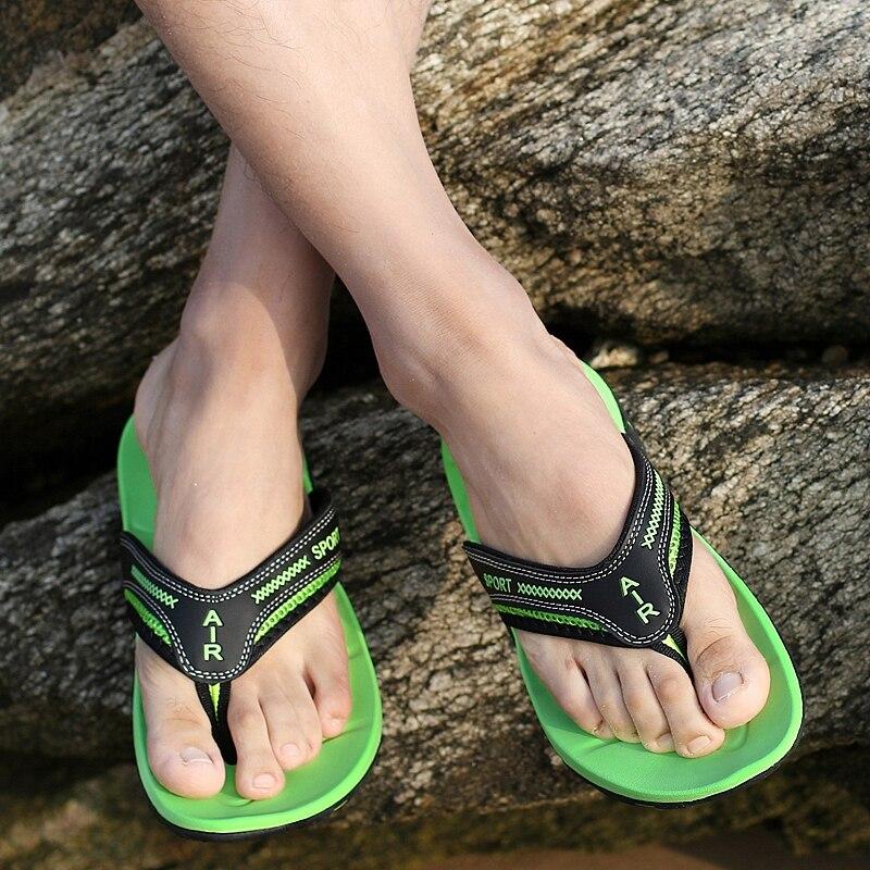 BIMUDUIYU Luksuzni Brand muške Flip Flops Ljeto Moda Sandale Sandale - Muške cipele - Foto 5