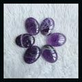 sale 6pcs natural stone fashion jewelry Amethyst Cabochons,24*16*5mm,26.8g,beautiful charming jewelry accessory