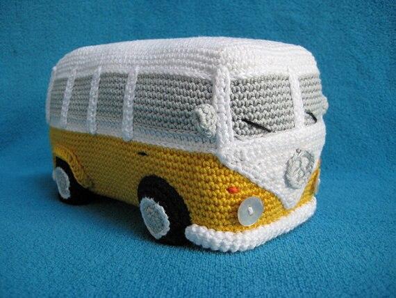 Ravelry: Volkswagen Van pattern by Epsiej   428x570