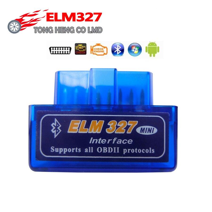 Elm327 bluetooth v2.1 super mini elm 327 obd2 obdii ferramenta de diagnóstico do carro para android windows symbian