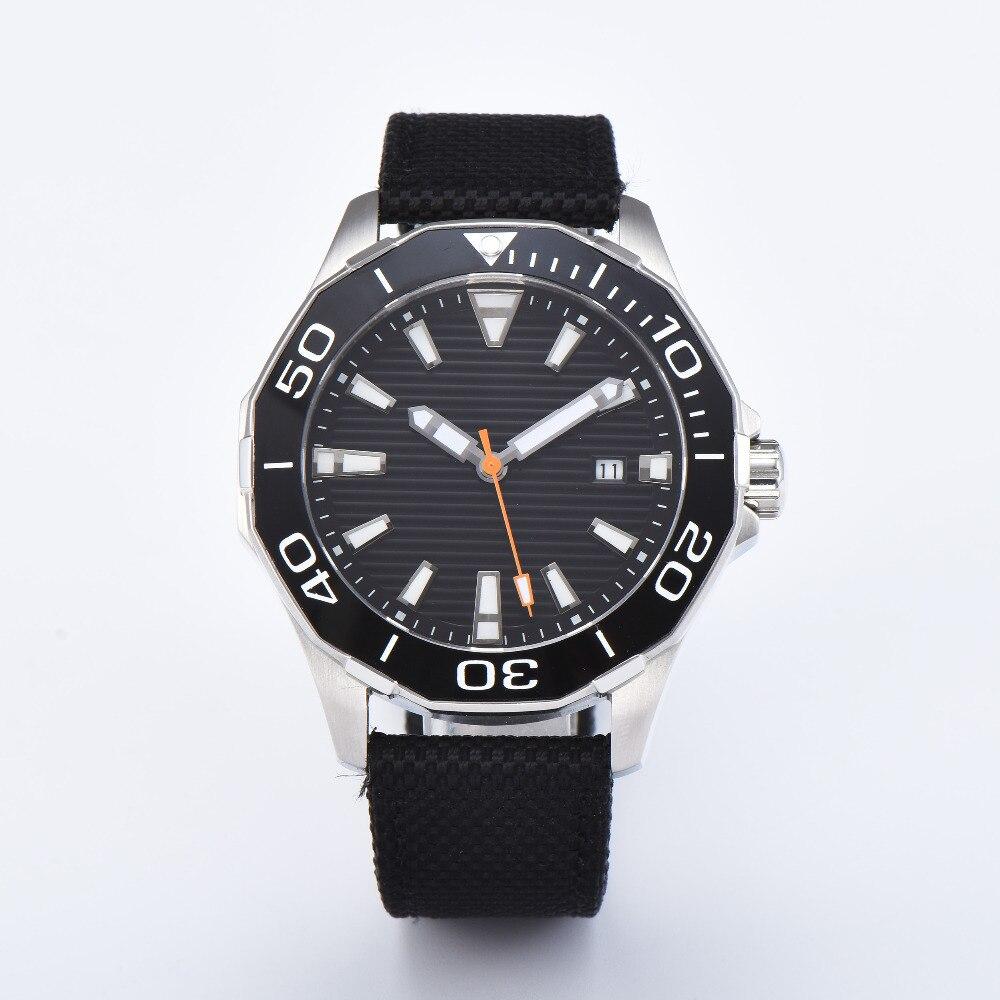 Men Military Watch Sapphire Waterproof Wristwatch Luminous Automatic Clock Sport Watch Male relogios masculino steel case Watch цена и фото