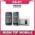 Мобильный телефон Nokia C6-01, отремонтированный емкостный сенсорный экран камера 8.0MP разблокированный мобильный телефон