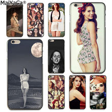 MaiYaCa Beautiful Lana Del Rey Sexy Colorful Phone Case for iphone 11 pro 8 7 66S Plus X 5S SE XS XR XS MAX Cover(China)