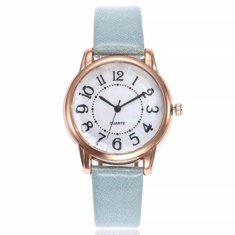 Women's Watches Tireless Aicsrad 2019 Fashion Luxury Alloy Women Quartz With Leather Strap Watches Clock Simple Dial Wristwatches Relogio Feminino