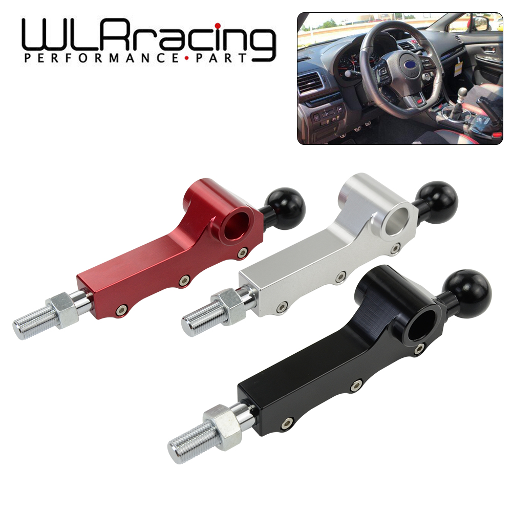 WLR - For 2008-2014 Subaru WRX Legacy Outback Legacy Forester Double Adjustable Short Throw Shifter Customizable Three Bolts