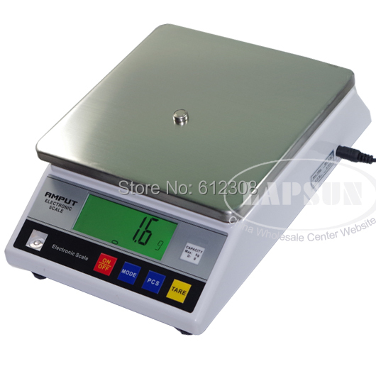 10000G 10KG 0 1G Digital Electric Jewelry Gram Gold Gem Coin Lab Balance Weight Accurate Scale