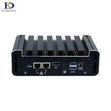 Newest Style N18 Fanless Mini PC with DP HDMI 2*COM 2*LAN Intel Dual Core i5 6200U windows 10 DDR4 Plam Nettop Computer i3 6100U