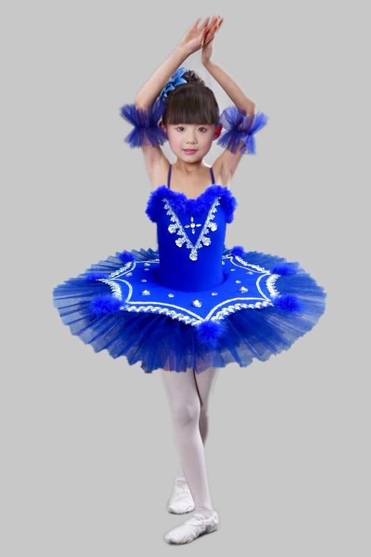 2026fdae4 Children Ballet Tutu Dance Dress Professional Ballet Dancewear Dress For  Girl White Feather Swan Lake dance Clothing Princess 89-in Ballet from ...