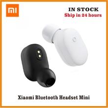 Auriculares originales Xiaomi mi Bluetooth mi ni IPX4 auriculares inalámbricos impermeables BT 4,1 auriculares MEDS mi crophone auriculares manos libres