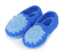 10 пар/лот новая классика мягкие мальчиков девушки лоскутное руководство вязать малыша обувь детская кроватка обувь 11 см