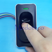 Wholesale RS485 Fingerprint Card Reader Biometric Card Reader FR1200 Access Control With ID Card Reader Rs485