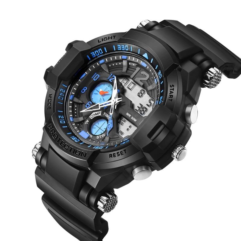 c560d8245 SB0027 Hodinky pro muže Venkovní sportovní hodinky Hodinky Vintage ...