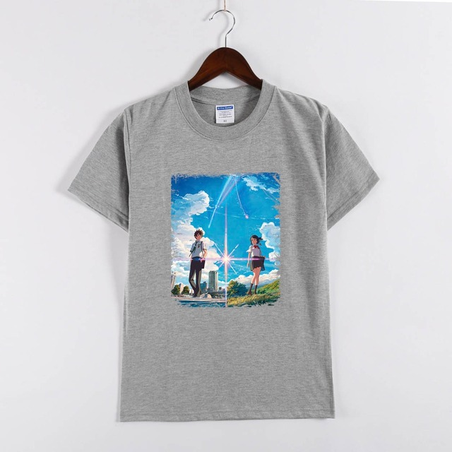 Your Name T Shirts Kimi No Na Wa T Shirt Of Tachibana Taki And