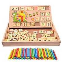 Early Digital Bar Box Telstaaf Rekenkundige bewerking Leren Wiskunde Leshulpmiddel 1-3-6 jaar Baby