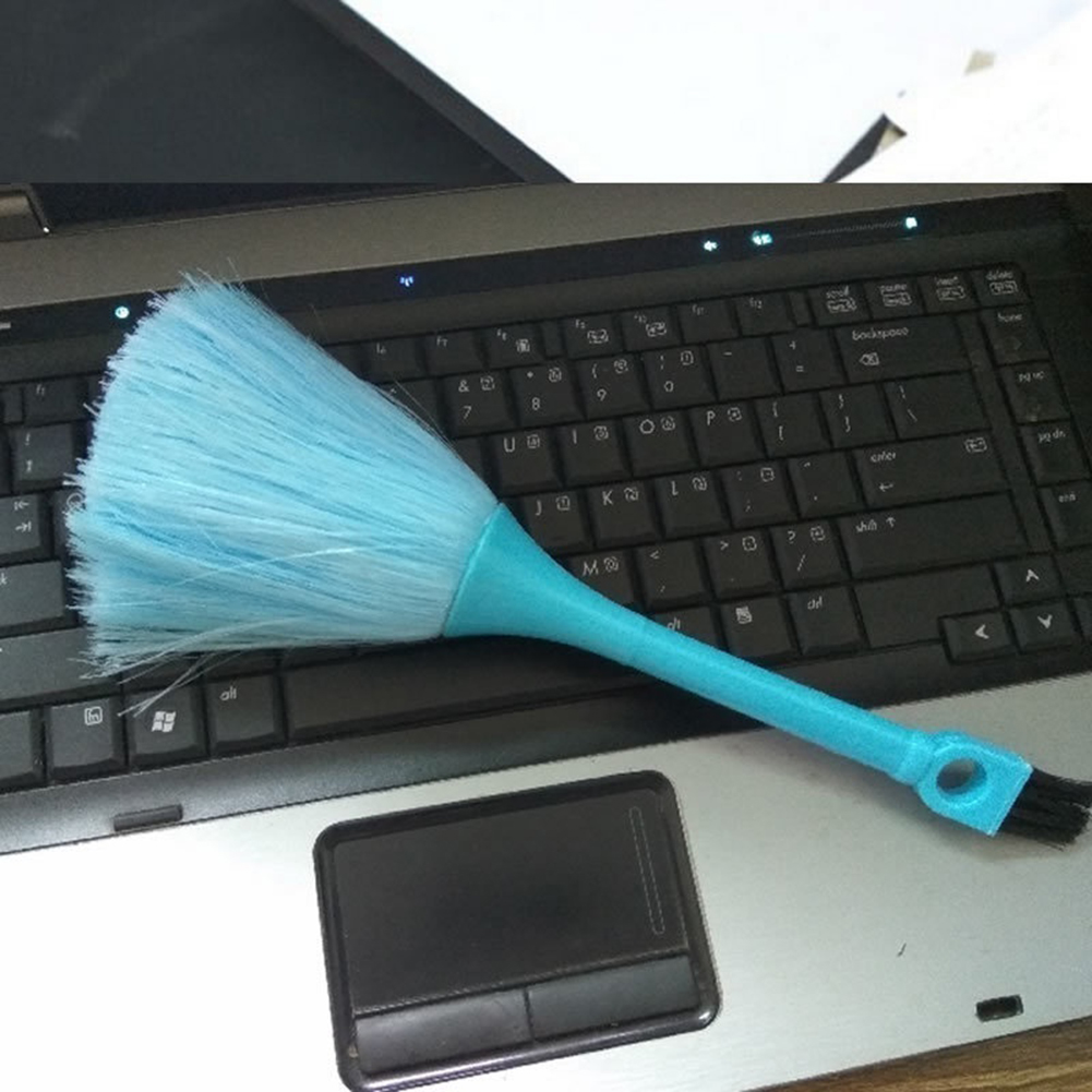 Image 3 - 1Pc Portable Mini Brush Keyboard Desk Top Bookcase Dust Remove Broom Cleaning Tool Keyboard Cleaning brush-in Computer Cleaners from Computer & Office
