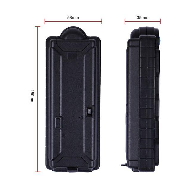Luggage GPS Tracker Car Waterproof IPX7 10000Mah Battery Powerful Magnet GSM Alarm Free Web APP Locating TK10SE Last 1800 Days 4