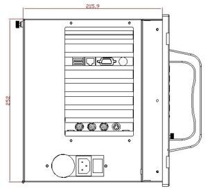 Image 4 - מתלה הר תעשייתי תחנת עבודה, 12.1 אינץ LCD, מסך מגע, P3 1.0GHz מעבד, 256MB זיכרון RAM, 160GB HDD, 4 2xpci, 4 xISA, Windows 98/XP OS
