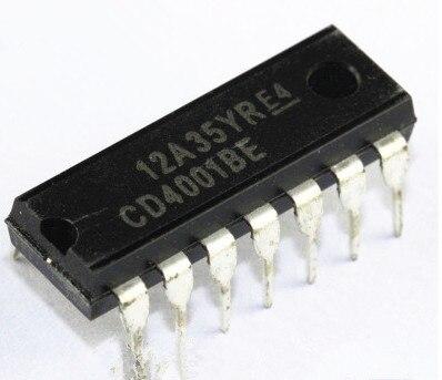 100PCS--500PCS CD4001BE CD4001  DIP-14 New original100PCS--500PCS CD4001BE CD4001  DIP-14 New original