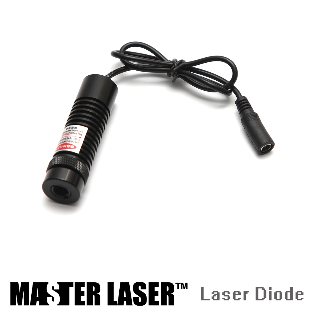 200mw Laser Diode Red Dot Pointer of Laser Cutting Machine Laser Diode Red Dot Laser element ex276 peq15 battery case military high precision red dot laser integrated with led flashlight red laser and ir lens
