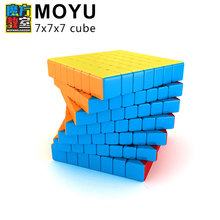 New MoYu Cubing Classroom Meilong 7x7x7 Speed Magic Cube Stickerless Professional Puzzle Cubes Education Toys For Children