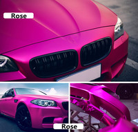New Matte Satin chrome vinyl film wrap car sticker auto foil decoration Air Release 20 x 60(50cm x 152cm)
