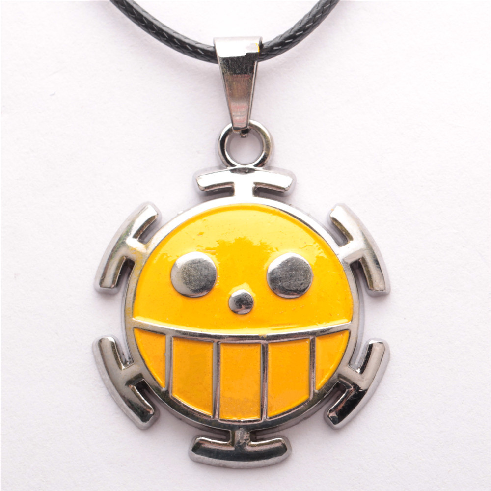 Hot sale cosplay jewelry one piece smiley face pendant anime cartoon hot sale cosplay jewelry one piece smiley face pendant anime cartoon alloy necklace christmas gift in pendant necklaces from jewelry accessories on aloadofball