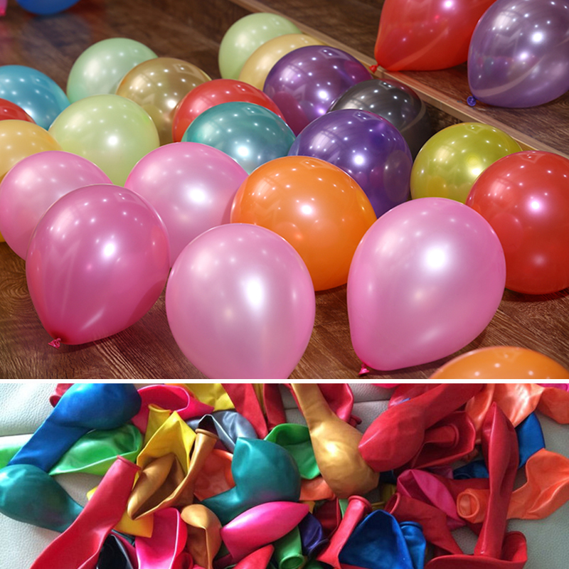 100pcs 10inch latex balloons pearl helium wedding supplies birthday party decorations store celebrations decor party favors