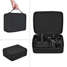 Taşınabilir sert taşıma kılıfı kapak kılıf çanta Oculus Rift CV1 sanal gerçeklik VR gözlük ve aksesuar