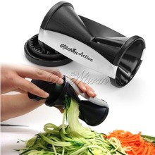 Vegetable Spiral Slicer Peeler Kitchen Products for Home Cooking Kitchen Accessories Cooking Tools Home Decor 2016 New Hot Sale