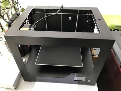 Industriële Kwaliteit Hoge Precisie 3d Printer Grote Size Thuis Metalen Frame Diy Leren Met Afdrukken Maat 320*220 * 200mm